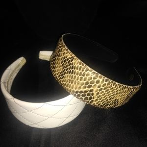 Head  band faux leather (2)